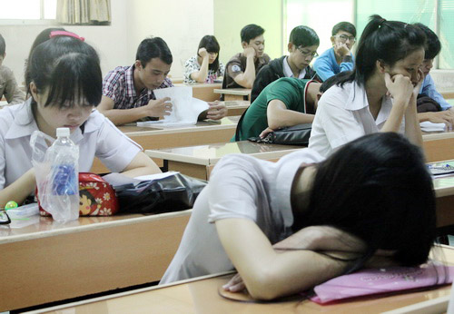 Dừng học để tránh stress trước ngày thi THPT quốc gia - ảnh 1