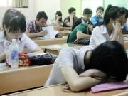 Giáo dục - du học - Dừng học để tránh stress trước ngày thi THPT quốc gia