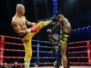 """Kinh điển:  """" Đệ nhất Thiếu Lâm """"  đả tay đấm số 1 Muay Thái"""