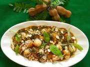 """Ẩm thực - Trứng cút lộn xào me - món ăn đường phố """"chất phát ngất"""" ở Hà thành"""