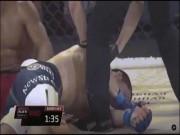 """Thể thao - MMA: Dựng tóc gáy với đòn """"sát thủ"""" ở Trung Quốc"""