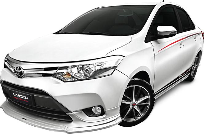 Thêm bodykit, Toyota Vios ở Việt Nam có giá 644 triệu đồng - 1