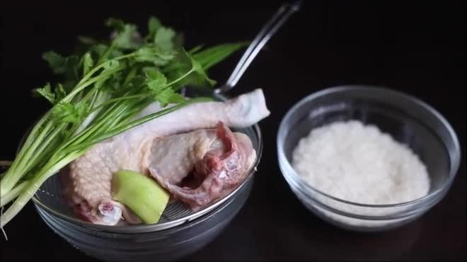 Ngày mát trời đổi bữa với cháo gà thơm ngon, bổ dưỡng