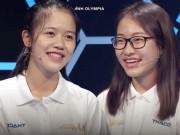 """Bạn trẻ - Cuộc sống - Hai cô gái xinh đẹp """"gây bão"""" chương trình Olympia 2017"""