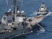 Điểm yếu chết người của chiến hạm Mỹ đâm tàu hàng