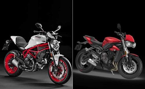 Ducati Monster 797 hay Triumph Street Triple S: Chọn xe nào? - 1