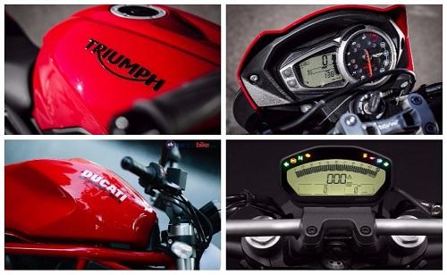 Ducati Monster 797 hay Triumph Street Triple S: Chọn xe nào? - 2