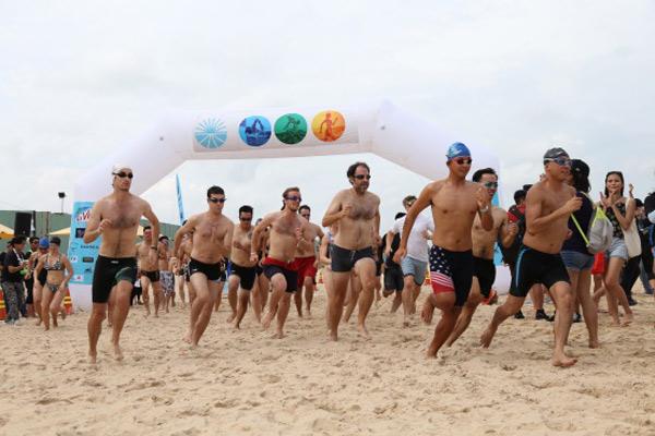 Le Fruit Triathlon 2017 đã diễn ra thành công tại Tp. Bà Rịa - Vũng Tàu - 1