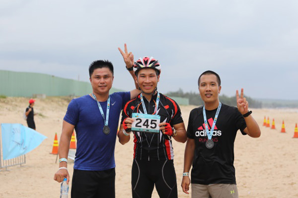 Le Fruit Triathlon 2017 đã diễn ra thành công tại Tp. Bà Rịa - Vũng Tàu - 6