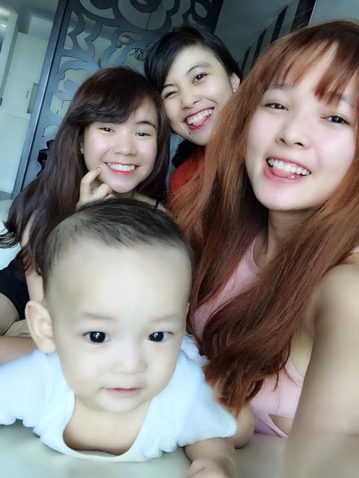 """Việt Huê nóng bỏng vẫn ít nhiều """"kiêng dè"""" em gái hot girl - 1"""