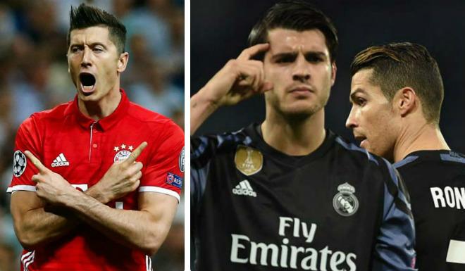 """MU cần gì Ronaldo, Morata: Đã có """"đại bàng"""" Lewandowski - 2"""