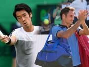 "Thể thao - Federer - Sugita: Bắt nạt ""kẻ đóng thế"" (V1 Halle Open)"