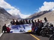 """Tây Tạng và hành trình chinh phục  """" nóc nhà thế giới """"  của 40 biker Việt"""