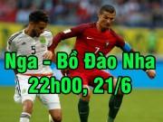 Bóng đá - Nga - Bồ Đào Nha: Khi Ronaldo đi săn bàn thắng