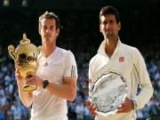 Thể thao - Wimbledon: Djokovic và Murray mắc kẹt, Federer - Nadal tăng tốc
