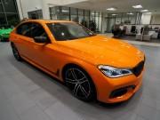 BMW 750i màu cam độc đáo có giá 3 tỷ đồng