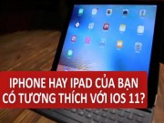 """iPhone của bạn đã đủ  """" tuổi """"  để lên iOS 11?"""