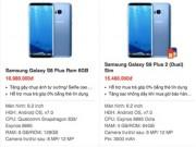 Thời trang Hi-tech - Samsung Galaxy S8 bán dưới giá, loạn giá
