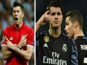 """Bóng đá - MU cần gì Ronaldo, Morata: Đã có """"đại bàng"""" Lewandowski"""