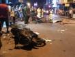 Xe máy văng tứ tung trên đường, 6 người thương vong