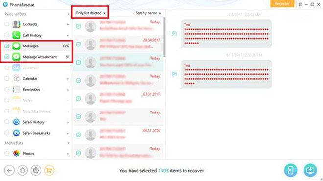 Khôi phục dữ liệu iPhone bằng PhoneRescue - 2