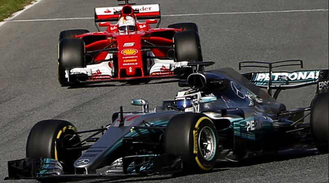 Đua xe F1, Azerbaijan GP: 2 ngựa đấu nhau, đằng sau chờ hưởng lợi - 1