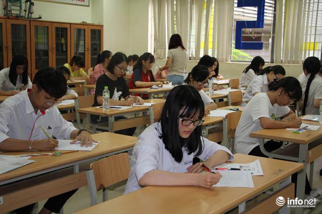Những hình ảnh đầu tiên về kỳ thi THPT quốc gia 2017 - 5