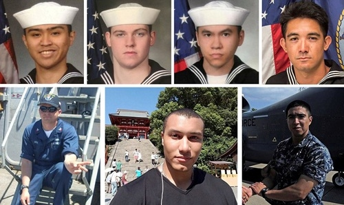 """7 thủy thủ """"tự sát"""" để cứu chiến hạm Mỹ đâm tàu hàng? - 1"""