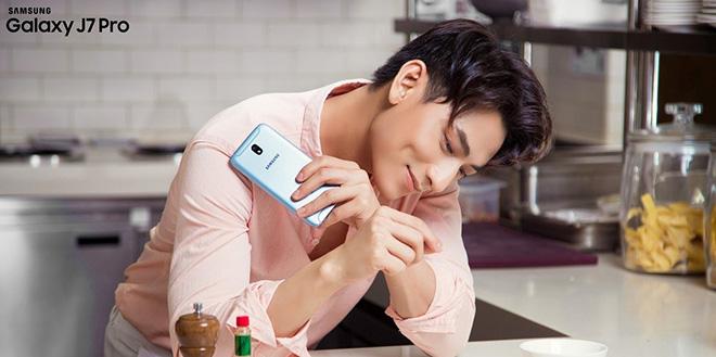 Sở hữu Samsung Galaxy J7 Pro rinh ngay quà tiền triệu từ Viễn Thông A - 1