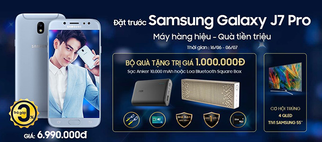 Sở hữu Samsung Galaxy J7 Pro rinh ngay quà tiền triệu từ Viễn Thông A - 4