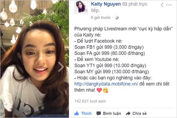 """Sao Việt chia sẻ bí kíp """"triệu view"""" với Facebook data 3.000 đ/ngày - 5"""