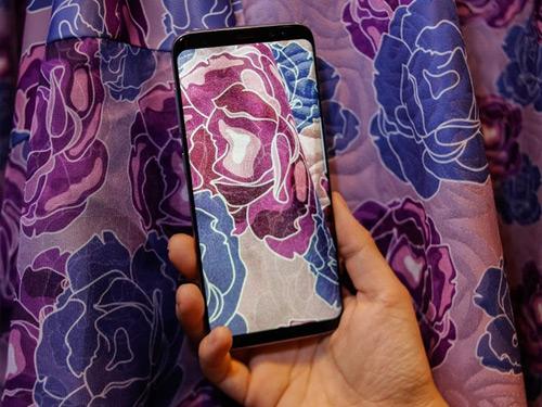 Lộ ảnh Samsung Galaxy S8+ màu Tím khói siêu đẹp - 2