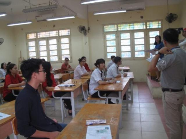 37 thí sinh bị đình chỉ thi môn Văn