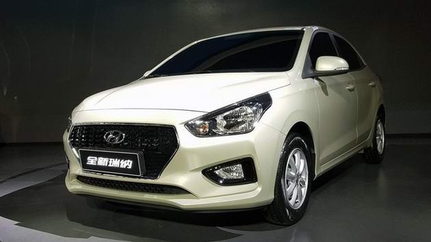 Hyundai Reina: Phiên bản nhỏ và rẻ hơn của Accent