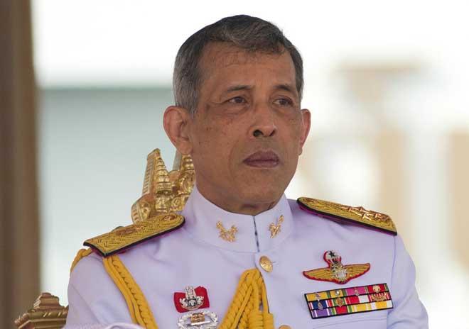 Vua Thái Lan bị bắn bằng súng hơi khi đạp xe ở Đức - 1