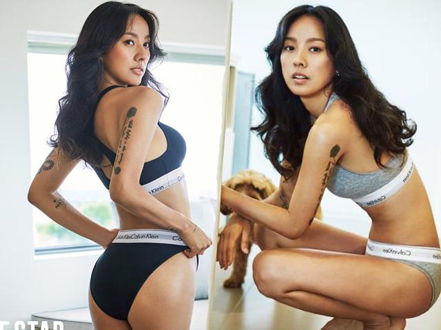 Nữ hoàng sexy Lee Hyori lôi cuốn với số đo ba vòng hoàn mỹ