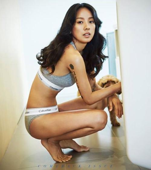 Nữ hoàng sexy Lee Hyori lôi cuốn với số đo ba vòng hoàn mỹ - 4