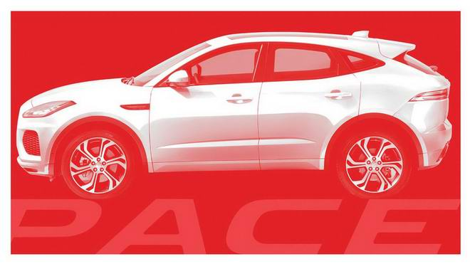 Jaguar E-Pace hoàn toàn mới dự kiến giá 877 triệu đồng