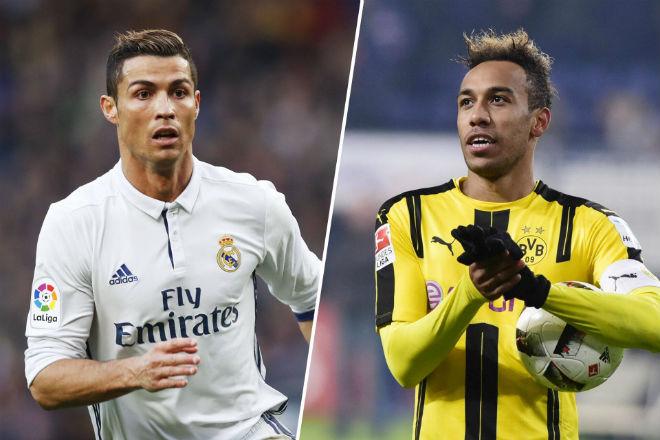 Chuyển nhượng Real: Aubameyang sẵn sàng thay thế Ronaldo - 1