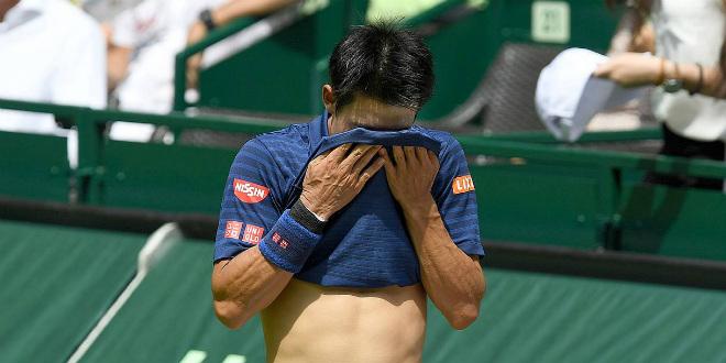 Tennis Halle ngày 4: Nishikori bỏ cuộc, Cilic vào tứ kết - 1