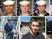 7 thủy thủ  tự sát  để cứu chiến hạm Mỹ đâm tàu hàng?