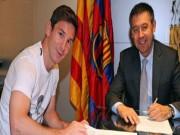 """Bóng đá - Messi """"trêu ngươi"""" Barca: Không gia hạn, miễn phí đến Man City"""