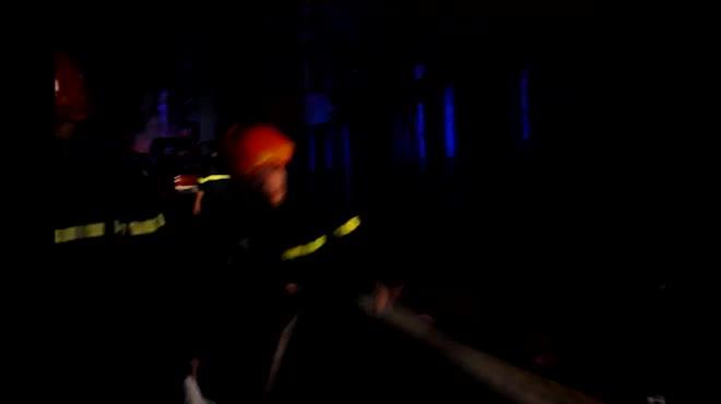 Toàn cảnh vụ cháy kinh hoàng ở cảng Sài Gòn
