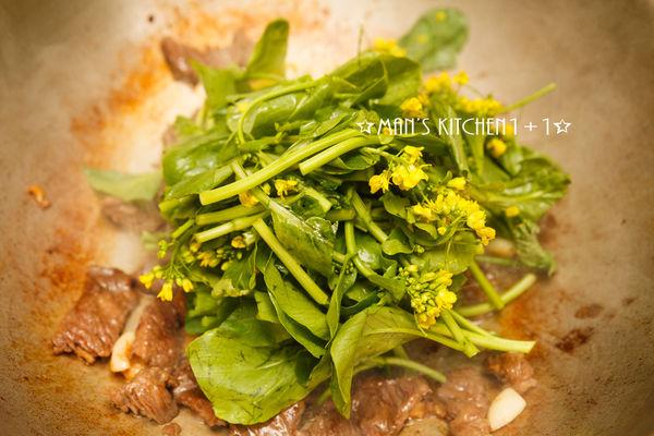Thịt bò xào ngồng cải mềm ngon, đậm đà - 4