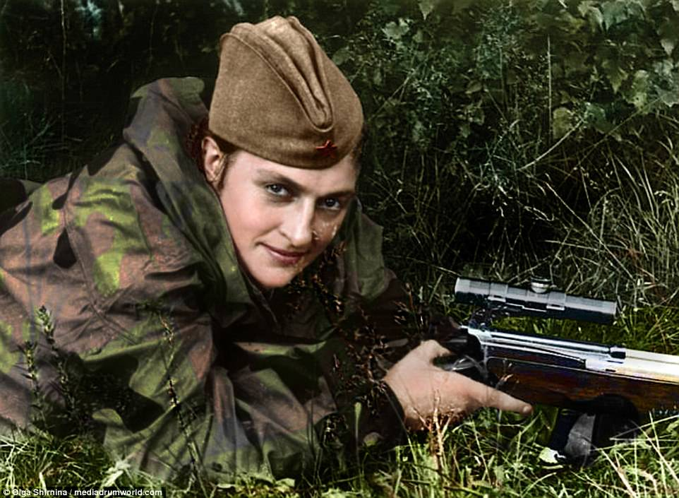 """3 nữ xạ thủ """"tử thần"""" Liên Xô gieo kinh hoàng cho quân Đức - 1"""
