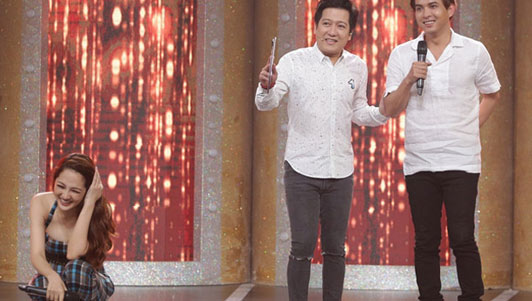 """Hồ Quang Hiếu chủ động """"xin cưới"""" Bảo Anh trên truyền hình"""