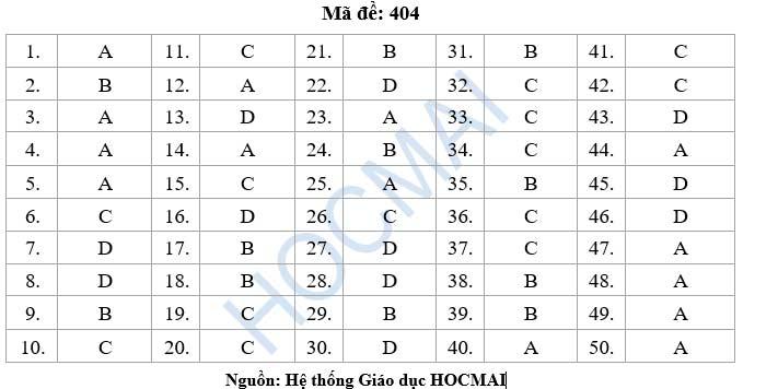 Đề thi, gợi ý lời giải môn Tiếng Anh kì thi THPT - 3