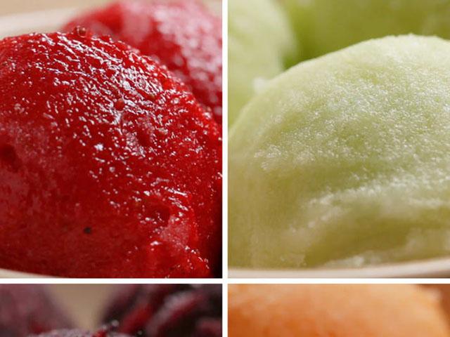 Tự làm kem trái cây tại nhà siêu dễ chỉ với 2 nguyên liệu