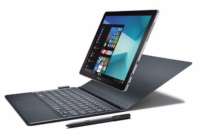 """Samsung công bố máy tính """"biến hình"""" chạy Windows 10 - 1"""
