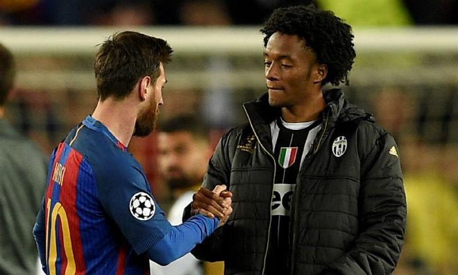 """Barca thay thiên tài Messi bằng """"công nhân"""" Cuadrado: Vết xe đổ MU - 1"""